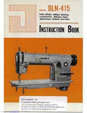 juki dln 415 manuals rh manualslib com Juki Sewing Manuals Juki Oil Pump