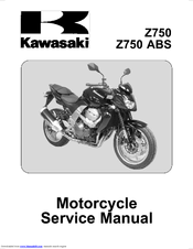 Kawasaki 2007 ZR750L7F Service Manual