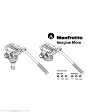Manfrotto MVH502A Instruction Manual