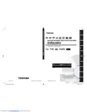 toshiba dvd video cassette recorder dvr620 manual