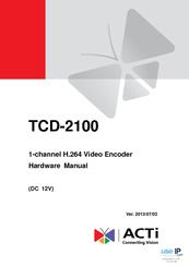 ACTI TCD-2500 WINDOWS 8 DRIVER