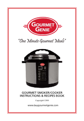 Gourmet Genie Gourmet Smoker Manuals