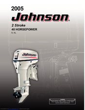 johnson 2 stroke 40 horsepower operator s manual pdf download