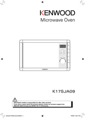 Kenwood K17SJA09 Owner's Manual