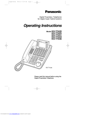 Fcc and other information | panasonic kx-t7433 user manual | page.