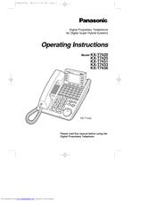 panasonic kx t7433 manuals rh manualslib com Operating Manual Panasonic Kx T7433 panasonic kx-t7433 phone user manual
