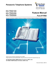 Panasonic KX-NCP500 Feature Manual