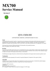 canon pixma mx700 series manuals rh manualslib com Canon MX700 Troubleshooting Canon MX700 Power Problems