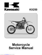 kawasaki kx250 service manual pdf download rh manualslib com 2005 kawasaki kx 250 service manual pdf 2002 kawasaki kx250 service manual
