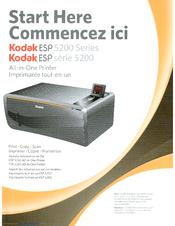 kodak esp 5250 start here manual pdf download rh manualslib com Kodak ESP 5200 Wireless Kodak ESP 5200 Wireless