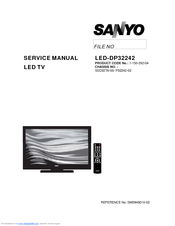 sanyo dp46142 manuals rh manualslib com Sanyo Televisions Parts Sanyo DP46841 Replacement Screen