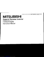 mitsubishi freqrol u100 manuals rh manualslib com