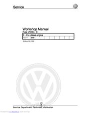 volkswagen fox 2004 manuals rh manualslib com vw fox 1.2 workshop manual vw fox workshop manual