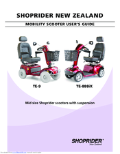Shoprider TE-888iX Manuals