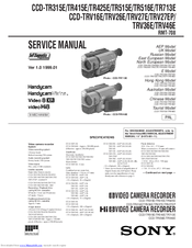 sony handycam vision ccd trv46e manuals rh manualslib com sony handycam video 8 instruction manual sony handycam avchd user manual