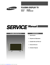 Samsung PPM42S3XSF Service Manual