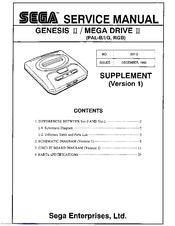 sega mega drive ii manuals rh manualslib com sega mega drive 2 user manual Instruction Manual