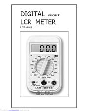 Lutron Electronics LCR-9063 Manuals
