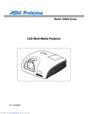 ask proxima c3000 series manuals rh manualslib com Ask Proxima Classroom Ask Proxima Support