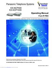 panasonic ncp500 operating manual pdf download rh manualslib com Panasonic Cordless Phones panasonic kx-ncp500 user manual