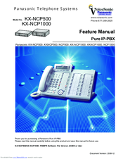 Panasonic KX-NCP500 Manual Manual