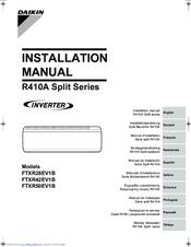 Daikin 2mxs52e2v1b installation manual pdf download.