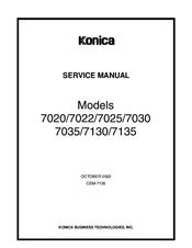 konica minolta 7020 service manual pdf download rh manualslib com Konica 7022 Manual Konica 7022 Toner