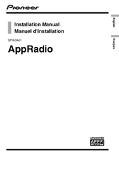 Pioneer AppRadio SPH-DA01 Installation Manual