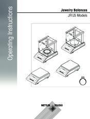 mettler toledo jp series operating instructions manual pdf download rh manualslib com Toledo No Springs Scale Toledo Honest Weight Scale