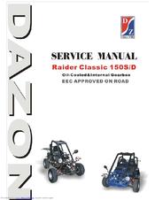 DAZON RAIDER-CLASSIC 150 SERVICE MANUAL Pdf Download