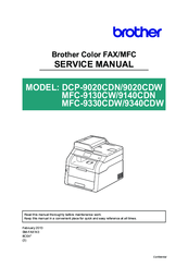 Network user s guide mfc-9440cn dcp-9040cn dcp-9045cdn. Multi.