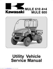 kawasaki mule 610 4 4 service manual pdf download rh manualslib com Kawasaki Mule 610 4x4 Specs 2007 kawasaki mule 610 4x4 owners manual
