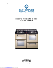 belling kensington 1100 df manuals rh manualslib com Instruction Manual Example Instruction Manual Example