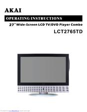 akai lct2765td manuals rh manualslib com Panasonic DVD VCR Combo Manual akai tv dvd combo manual