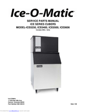 ice o matic ice0250 series manuals ice o matic ice0250 series service parts manual