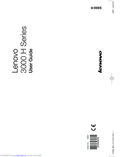 Lenovo 3000 H Series User Manual