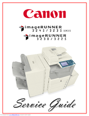Canon imageRUNNER 3245 Series Service Manual