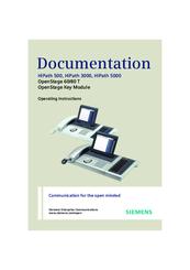 siemens hipath 3000 v3 0 or later gigaset m1 professional manuals rh manualslib com Siemens Company Siemens USA