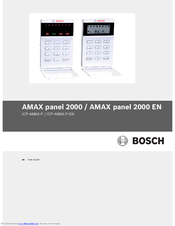 Bosch AMAX panel 2000 EN ICP-AMAX-P-EN User Manual