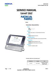 nokia n810 rx 44 manuals rh manualslib com Nokia N810 Tablet Troubleshooting Nokia N810 Android Installer