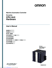 Omron CJ1W-IDP01 User Manual