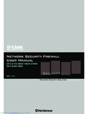 D-Link NetDefend DFL-860 User Manual