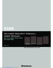 D-Link DFL-860 User Manual