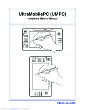 Asus UMPC Hardware User Manual