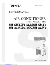 Toshiba  10SAX-1 Service Manual