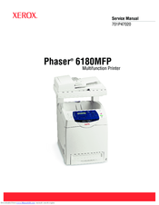 Xerox Phaser 6180MFP Manuals