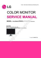 Lg Flatron W1941s Manuals Manualslib