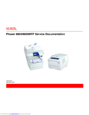 Xerox Phaser 8860 Service Manual