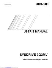 Omron Sysdrive 3g3mv A4040 Manuals Manualslib