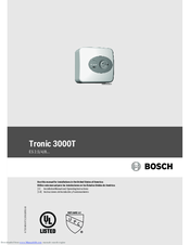 Bosch Tronic 3000T Manual For Installation